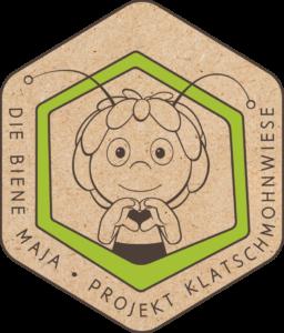 Maya the Bee Project Poppy Meadow logo